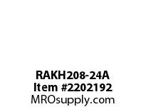 PTI RAKH208-24A PILLOW BLOCK BEARING-1-1/2 RAKH 200 SILVER SERIES - NORMAL DUT