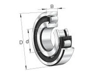 FAG 20316MB BARREL ROLLER BEARINGS
