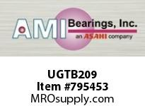 AMI UGTB209 45MM WIDE ECCENTRIC COLLAR TAPPED B SINGLE ROW BALL BEARING