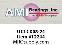 AMI UCLCX08-24 1-1/2 MEDIUM SET SCREW ROUND CARTRI UNIT