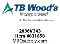 TBWOODS 2836V343 2836V343 VAR SP BELT