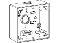 Orbit 2B75-3-BR 2-G W/P BOX 3 3/4^ HUBS 2^ DEEP - BR