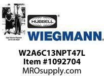 WIEGMANN W2A6C13NPT47L ACNEMA1213000BTU230V60HZ