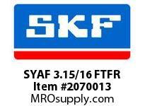 SKF-Bearing SYAF 3.15/16 FTFR