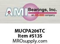 AMI MUCPA206TC 30MM STAINLESS SET SCREW TEFLON TAP