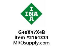 INA G40X47X4B Seal single lip