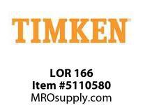 TIMKEN LOR 166 SRB Pillow Block Component