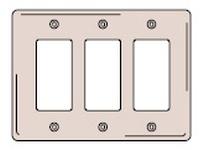 HBL-WDK NPJ263AL WALLPLT M-SIZE 3G 3) RECT AL