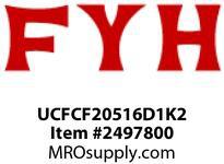 FYH UCFCF20516D1K2 1in PILOTED FLANGE *HIGH-TEMP*