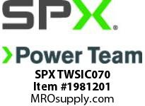 SPX TWSIC070 SOCKET-1-1/2in. SQR DRIVE x 2-3/4in