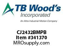 TBWOODS CJ2432BMPB CJ24/32X7MM RB HUB