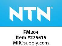 NTN FM204 STAINLESS HOUSINGS