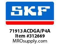 SKF-Bearing 71913 ACDGA/P4A