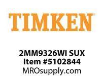 TIMKEN 2MM9326WI SUX Ball P4S Super Precision