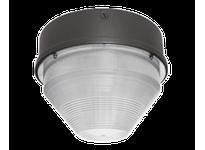 RAB VANGH150QT VAN GARAGE 15 ROUND 150W MH HPF QT + LAMP BRONZE
