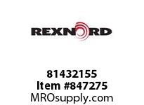 REXNORD 81432155 WHT5705-15 MTW WHT5705 15 INCH WIDE MOLDED-TO-WIDT