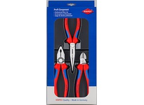 Kniplex 00 20 11 SET 3 PC COMBINATION LONG NOSE DIAGON