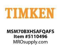 TIMKEN MSM70BXHSAFQAFS Split CRB Housed Unit Assembly