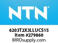 NTN 6203T2X3LLUCS15 SMALL SIZE BALL BRG(STANDARD)