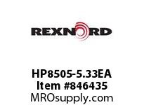REXNORD HP8505-5.33EA HP8505-5.33 E6-1/8D