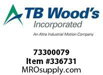 TBWOODS 73300079 73300079 10S T-SF CPLG