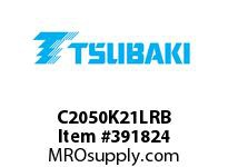 US Tsubaki C2050K21LRB C2050 RIV 1L/K-2