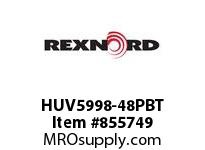 REXNORD HUV5998-48PBT HUV5998-48 PES RODS HUV5998-48IN MATTOP CHAIN WITH POLY