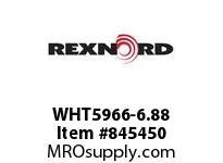REXNORD WHT5966-6.88 WHT5966-6.875 WHT5966 6.875 INCH WIDE MATTOP CHAI