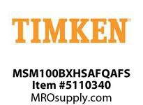 TIMKEN MSM100BXHSAFQAFS Split CRB Housed Unit Assembly
