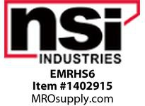 NSI EMRHS6 REMOTE SINGLE HEAD OUTDOOR WEATHERPROOF
