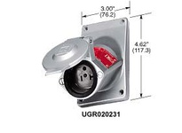 HBL-WDK UGRA20231 EXPLOSION PROOF RCPT 20A 125V 5-20R