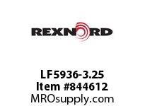 REXNORD LF5936-3.25 LF5936-3.25 CNTR DESIGN