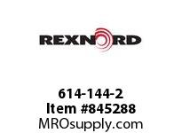 REXNORD 614-144-2 WT1500-24T 40MM SQ SPLIT