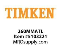 TIMKEN 260MMATL Split CRB Housed Unit Component