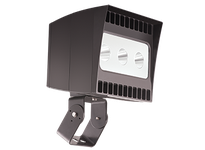 RAB EZLED78TNB44/PCS EZFLOOD 78W NEUTRAL LED 4HX4V 120V PCS TRUNNION 3 X 26W BNZ