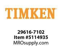 TIMKEN 29616-7102 Large Bore Seal