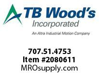 TBWOODS 707.51.4753 MULTI-BEAM 51 3/4 --1