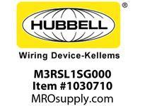 HBL-WDK M3RSL1SG000 PSDA 2-G SWITCHED 3R SPEC. GRADE