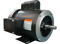 Brook Crompton SS4N001-1C 1HP 1800RPM 115-208/230V Rolled Steel NEMA 56C C Face