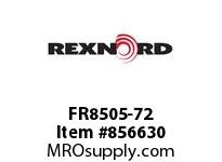 REXNORD FR8505-72 FR8505-72 FR8505 72 INCH WIDE MATTOP CHAIN WI
