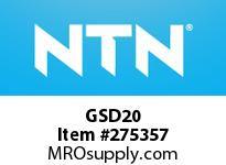 NTN GSD20 BRG PARTS(PLUMMER BLOCKS)