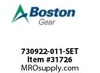 BOSTON 78262 730922-011-SET SHOE SET 10X3 OUTER