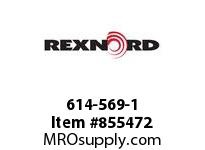 REXNORD 614-569-1 RETURN GUIDE STRAIGHT 10