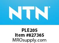 NTN PLE205 Bearing Units - Cast Housing