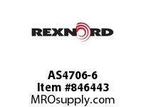 REXNORD AS4706-6 AS4706-6 AS4706 6 INCH WIDE MATTOP CHAIN WIT