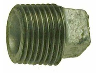 MRO 64659 2-1/2 GALV SQ HD CORED PLUG