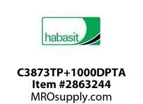 "Habasit C3873TP+1000DPTA 3873 Tab 10"" Top Plate Acetal"