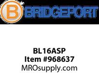 "Bridgeport BL16ASP 3/8"" SNAP-IN AC/MC/FMC CBL INS"