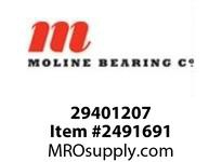 Moline Bearing 29401207 UCFLX12-39 2-7/16 MED DUTY 2-BOLT BALL BEARING