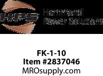 HPS FK-1-10 FUSE KIT SEC GLASS (10/PKG) Machine Tool Encapsulated Control Transformers